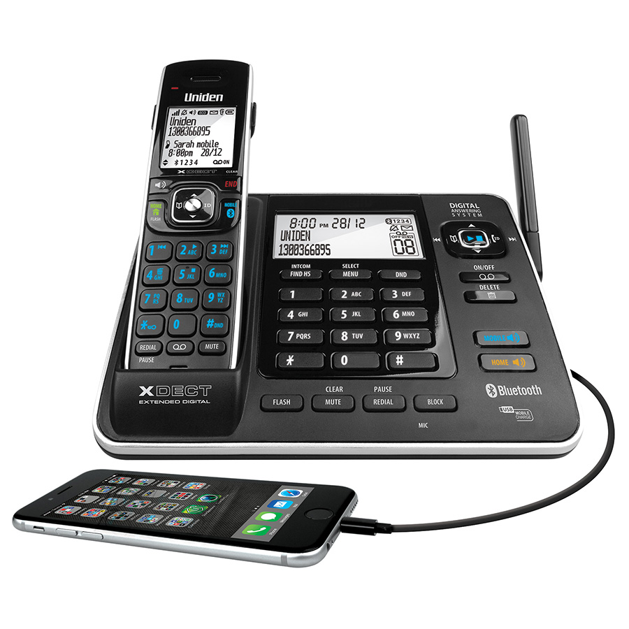 xdect 8355 2 uniden rh uniden com au Uniden Telephones with Answering Machine Corded Phone with Answering Machine