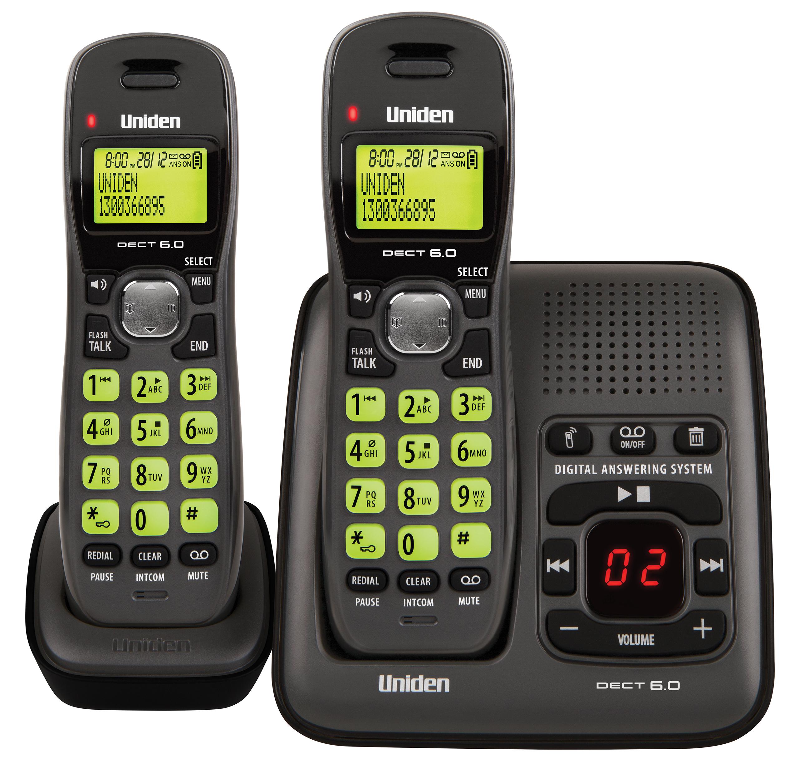 dect 1635 1 uniden rh uniden com au Uniden 6.0 Answering Machine Manual Uniden Cordless Phone