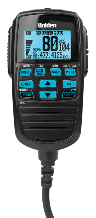 uniden rm770 remote mic manual